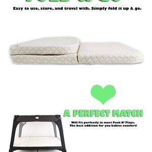NapYou Memory Foam Pack N' Play Mattress